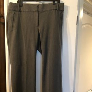 Ann Taylor Loft Dark Grey Pants